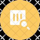 Barcode Magnifying Upc Icon
