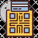 Barcode Card Barcode Scanning Scanning Icon