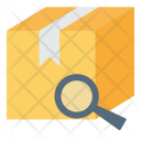 Barcode Delivery Magnify Icon