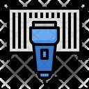 Barcode Machine Icon
