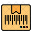 Barcode Package Box Shipping Icon