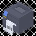 Barcode Printer Icon