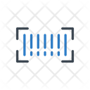 Barcode Scan Label Icon