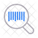 Barcode Scanning Logistics Icon