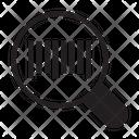 Barcode Scanning Logistics Icon