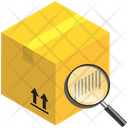 Logistics Delivery Barcode Icon