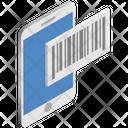 Logistics Delivery Mobile Icon