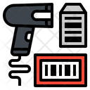 Barcode Scanner Tag Icon
