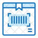 Barcode Truck Delivery Icon
