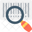 Barcode Scanner Magnifier Icon