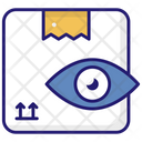 Barcode Scanning Order Tracking Package Investigation Icon