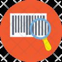 Scanning Upc Code Icon
