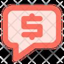 Bargain Bubble Chat Icon
