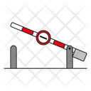 Customs Barrier Icon