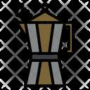 Barista Boil Coffee Icon
