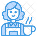 Barista Coffee Avatar Icon