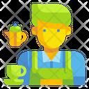 Barista Coffee Tea Icon