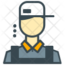 Barista Avatar Man Icon