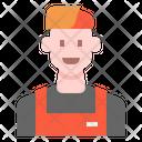 Barista Man Icon