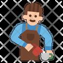 Barista Server Coffee Icon