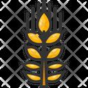 Barley Malt Farming And Gardening Icon