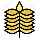 Barley Wheat Grain Icon