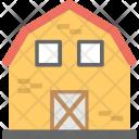 Barn Farmhouse Agriculture Icon