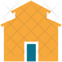Barn Agricultural Fields Icon