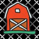 Barn Farm House Icon