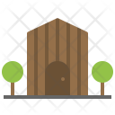 Barn Silo House Icon
