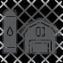 Barn Agriculture Farm Icon