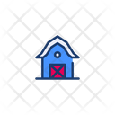 Barn Farm House Farm Storage Icon