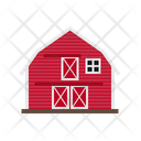 Farm Barn Building Icon