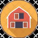 Barn Farm Farm House Icon
