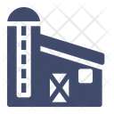 Barn Silo Farming Icon