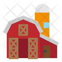 Agriculture Barn Farm Icon