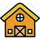 Barn Building Farm Icon