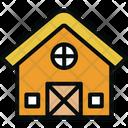 Barn Building Farm Icon