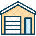 Storage Garagem Barn Storage Icon
