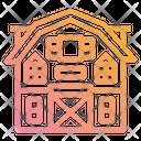 Barn Farm Farming Icon