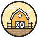 Barn Barn House Building Icon