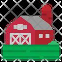 Barn Field Farm Icon