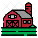 Barn Field Farm Icon