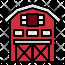 Barn Garden Gardener Icon