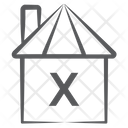 Barn Shed Hut Icon