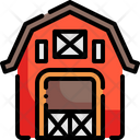 Barn Farming And Gardening Farm Icon