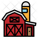 Barn Farm Garden Icon