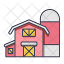 Barn Farm Building Icon