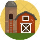 Store House Barn Silo Icon