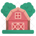 Barn Bulding Buildings Icon